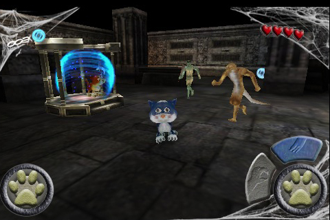 Screenshot Scaredy Cat 3D