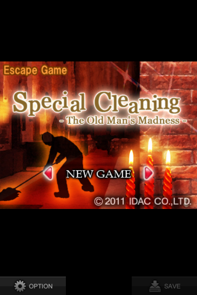 "Screenshot Escape Game ""Special Cleaning – The Old Man's Madness -"""