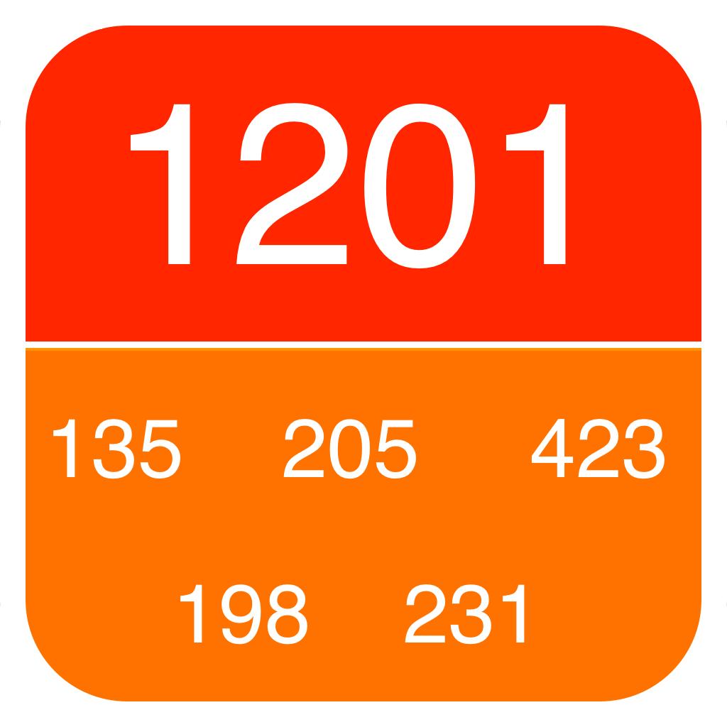 Flick Counter(数取器):フリック操作で画面を見ずに計測できるカウンター